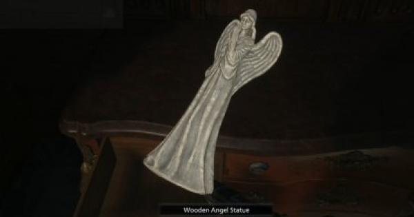 RE8   Wooden Angel Statue - Map Location & How To Get   Resident Evil Village (RE Village) - GameWith