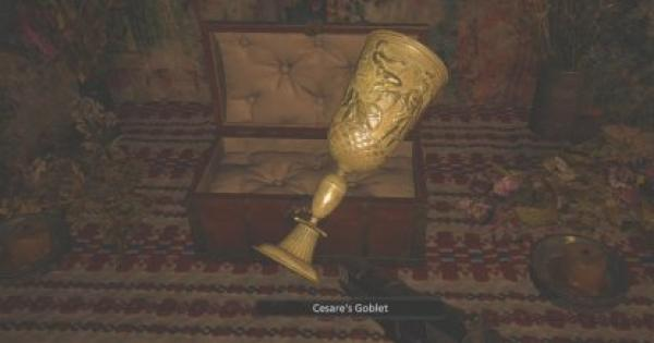 RE8 | Cesare's Goblet - Map Location & How To Get | Resident Evil Village (RE Village) - GameWith