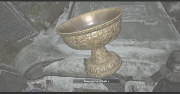 RE8 | Berengario's Chalice - Map Location & How To Get | Resident Evil Village (RE Village) - GameWith