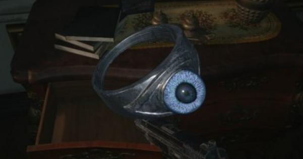 RE8   Azure Eye Ring - Map Location & How To Get   Resident Evil Village (RE Village) - GameWith