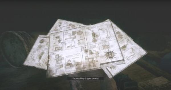 RE8   Factory Map (Upper Levels)  - How To Get & Use   Resident Evil Village (RE Village) - GameWith