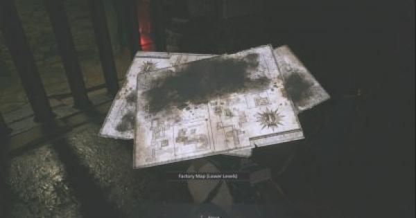RE8   Factory Map (Lower Levels)  - How To Get & Use   Resident Evil Village (RE Village) - GameWith