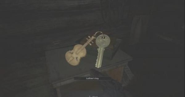 RE8 | Luthier's Key  - How To Get & Use | Resident Evil Village (RE Village) - GameWith