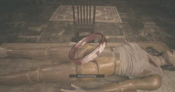 RE8   Blood Covered Ring  - How To Get & Use   Resident Evil Village (RE Village) - GameWith