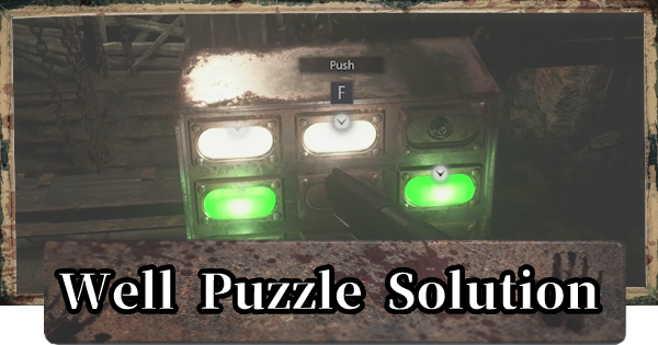 Well Puzzle - Platform Solutions & Location