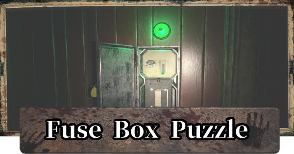 RE8 | Fuse Box Puzzle - Location | Resident Evil Village (RE Village) - GameWith