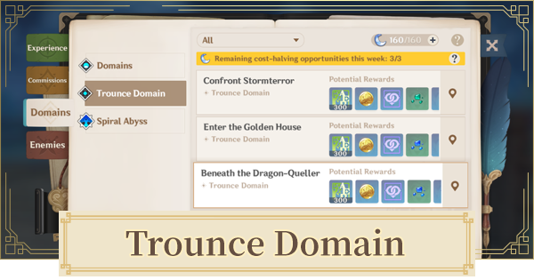 Trounce Domains - Rewards & How To Unlock   Genshin Impact - GameWith