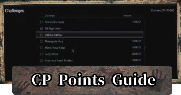 RE8 | CP Points Guide - CP Farming | Resident Evil Village (RE Village) - GameWith