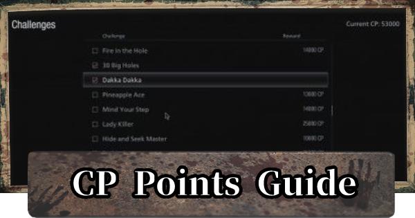 CP Points Guide - CP Farming