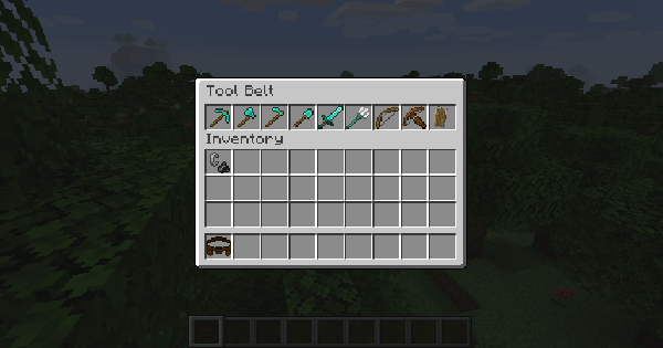 Tool Belt - Mod Details | Minecraft Mod Guide - GameWith