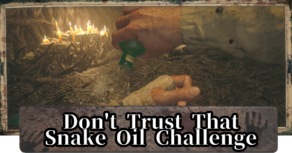 Don't Trust That Snake Oil Challenge Guide