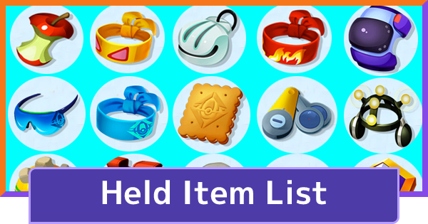 All Held Items List | Pokemon UNITE - GameWith