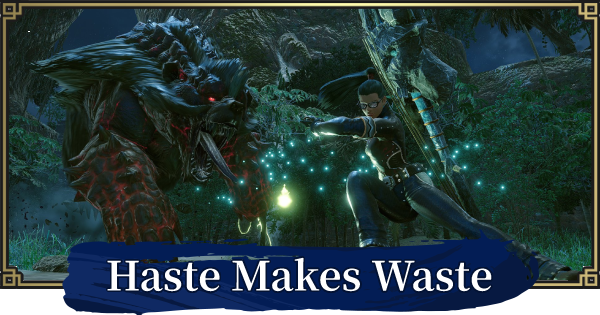MH Rise | Haste Makes Waste - Event Quest | MONSTER HUNTER RISE (MHR) - GameWith
