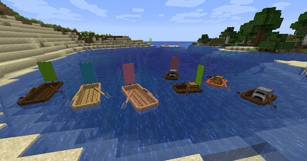 Extra Boats - Mod Details | Minecraft Mod Guide - GameWith