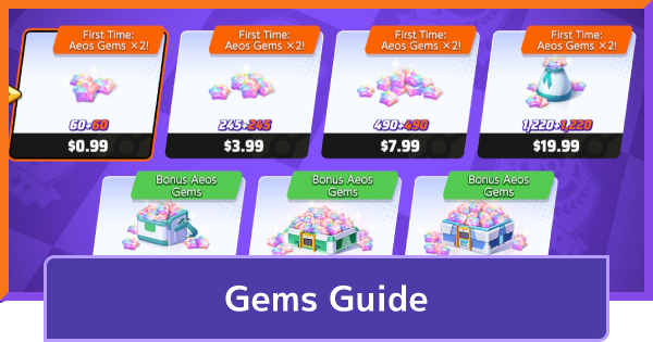 Gems Guide - Prices & How To Get | Pokemon UNITE - GameWith