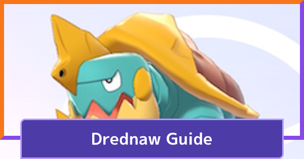 Drednaw Guide - Spawn Time & Location | Pokemon UNITE - GameWith