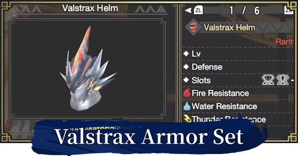 MH Rise | Crimson Valstrax Armor Set - Stats & Skill | MONSTER HUNTER RISE (MHR) - GameWith
