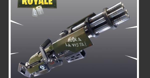 Fortnite Minigun Minigun Guide