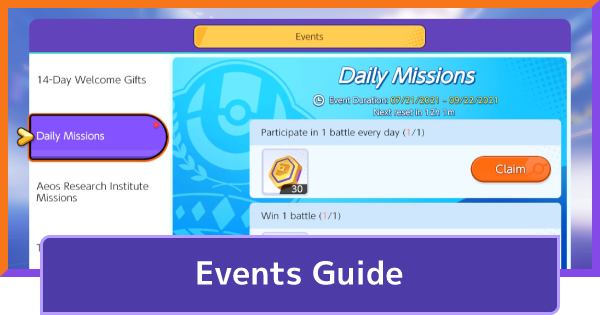 Events - Upcoming & Current 2021   Pokemon UNITE - GameWith