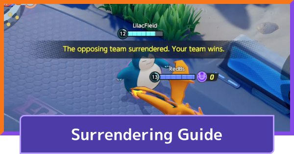 How To Surrender & End Match | Pokemon UNITE - GameWith