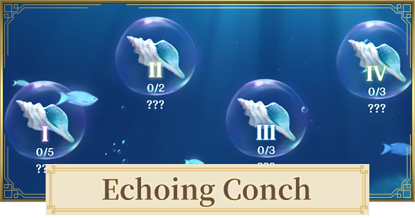 Echoing Conch Locations - Conch Shell Interactive Map & Complete Checker | Genshin Impact - GameWith