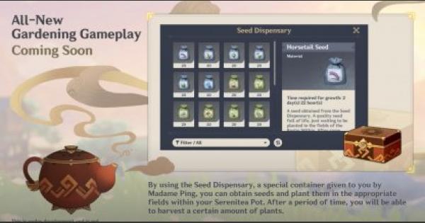 Genshin Impact   Gardening & Farming System   How To Unlock - GameWith