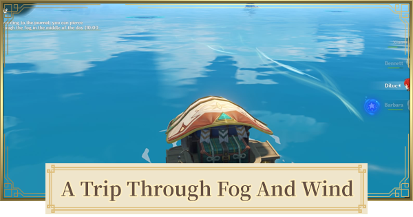 A Trip Through Fog And Wind Guide - How To Reach Nameless Island | Genshin Impact - GameWith