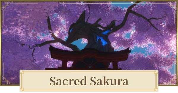 Sacred Sakura Rewards & How To Raise Level | Genshin Impact - GameWith