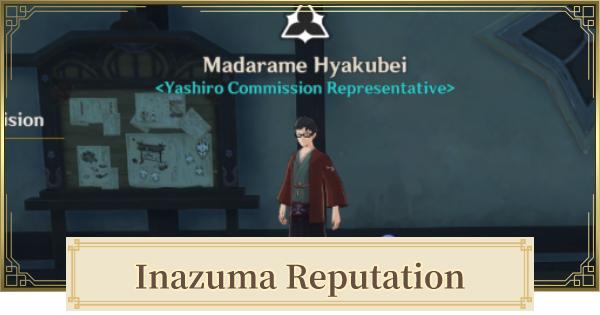 Inazuma Reputation System Location & How To Unlock   Genshin Impact - GameWith