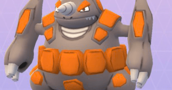 Pokemon Go | Rhyperior - Stats, Best Moveset & Max CP