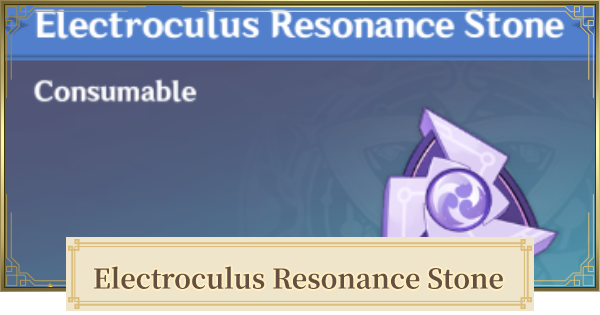 Electroculus Resonance Stone Location & Where To Get | Genshin Impact - GameWith