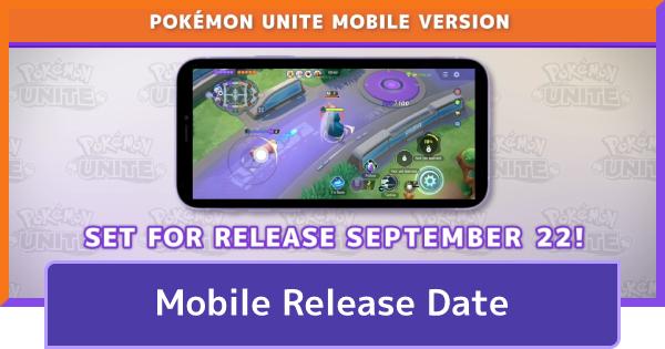 Mobile Release & Pre Register - Android & iOS Version | Pokemon UNITE - GameWith
