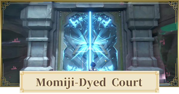 Momiji-Dyed Court Domain Map Location & How To Unlock   Genshin Impact - GameWith