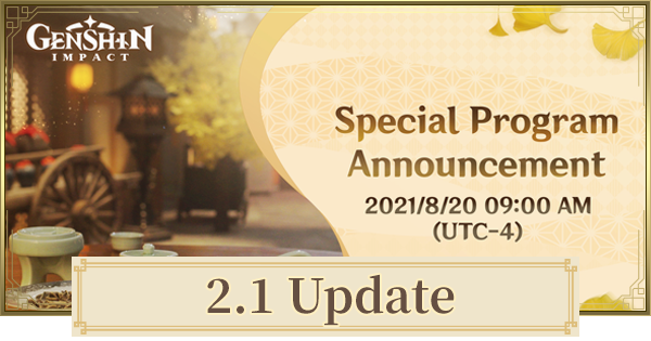 2.1 Update Release Date, Banners & New Characters | Genshin Impact - GameWith