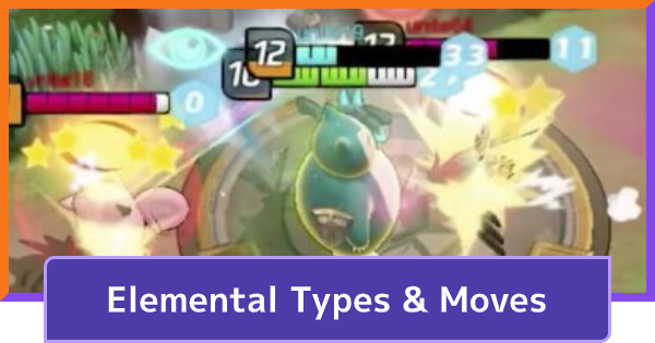Elemental Types & Moves | Pokemon UNITE - GameWith