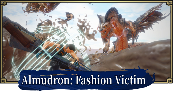 MH Rise   Almudron: Fashion Victim - Event Quest   MONSTER HUNTER RISE (MHR) - GameWith