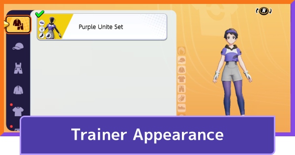 Trainer Appearance - Character Customization