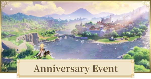 Anniversary Event Date & Rewards