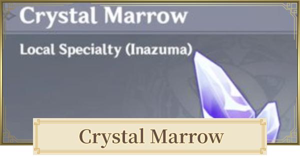 Crystal Marrow Location & Farm Routes 2.2