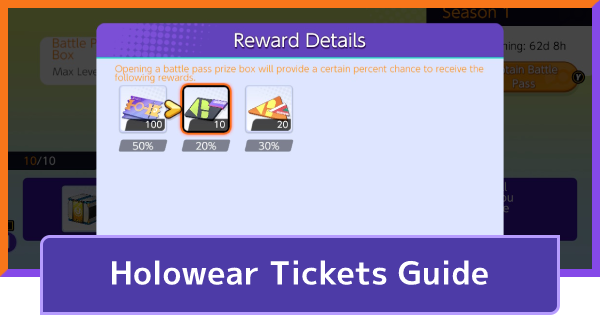 Holowear Tickets - How To Get & Uses | Pokemon UNITE - GameWith