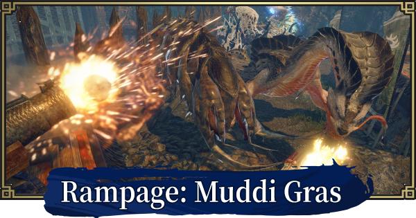 Rampage: Muddi Gras - Event Quest
