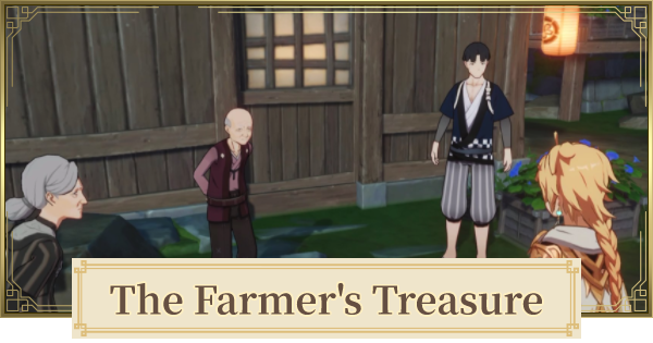 The Farmer's Treasure World Quest Guide | Old Stone Slate Locations | Genshin Impact - GameWith