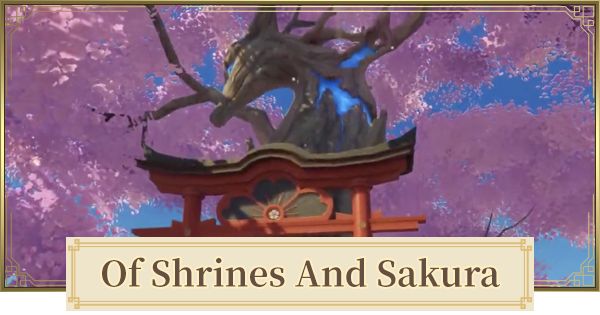 Of Shrines and Sakura (The Gourmet Supremos) World Quest Walkthrough Guide   Genshin Impact - GameWith