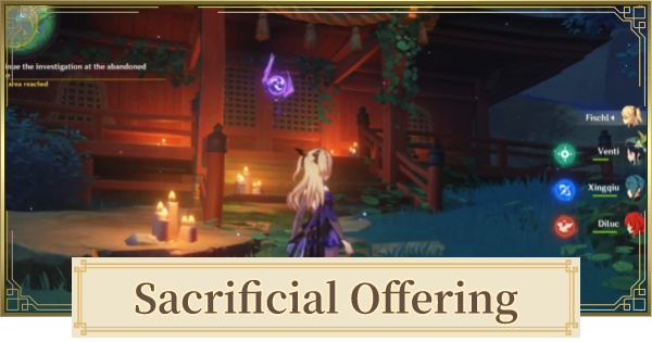 Sacrificial Offering World Quest Walkthrough   Find & Destroy The Barrier Guide    Genshin Impact - GameWith