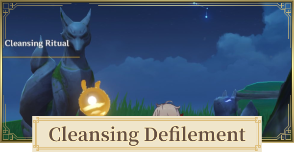 Cleansing Defilement World Quest Walkthrough Guide   Tidal Flats Solution   Genshin Impact - GameWith