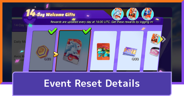 When Do Events Reset - Server Reset Time   Pokemon UNITE - GameWith
