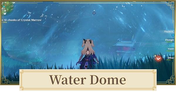 Water Dome In Jakotsu Mine | Jakotsu Mine Puzzle | Genshin Impact - GameWith