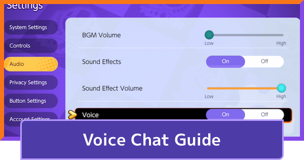 Team Voice Chat & Text Chat