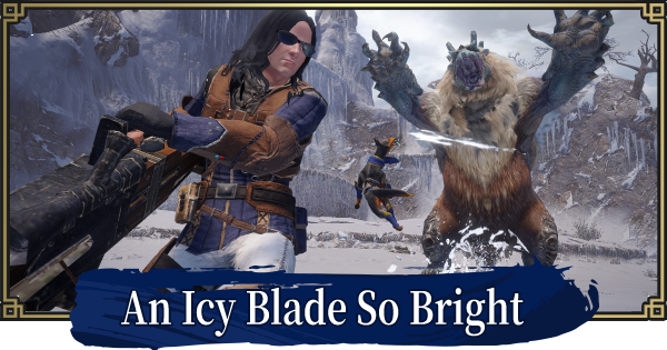 An Icy Blade So Bright - Event Quest