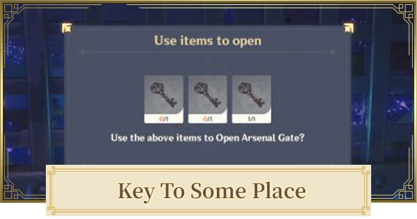 Key to Some Place   Location & How To Unlock Tatara Arsenal Gate   Genshin Impact - GameWith